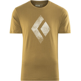 Black Diamond Chalked Up - T-shirt manches courtes Homme - beige